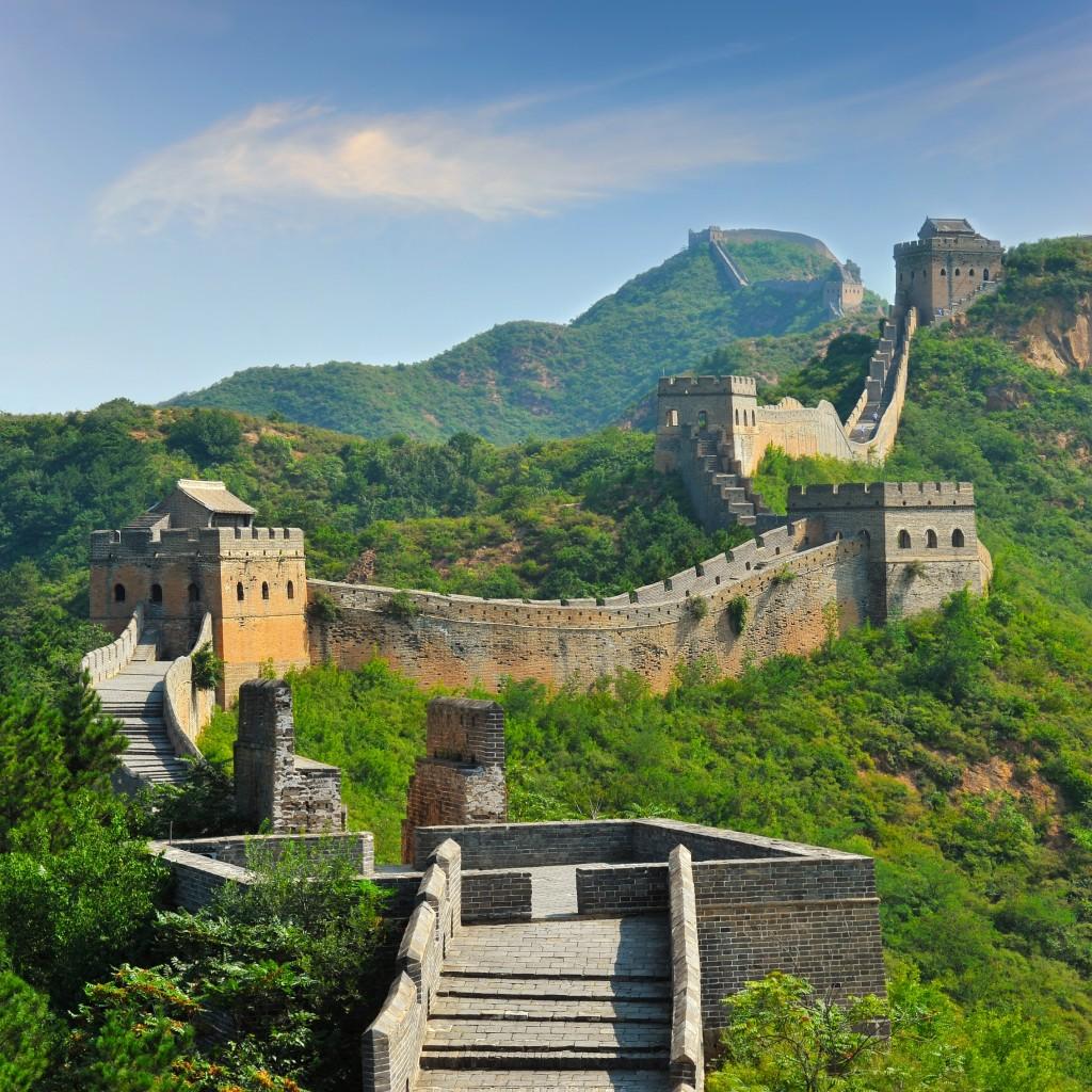 Keindahan Tembok China